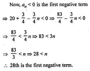 ML Aggarwal Class 10 Solutions for ICSE Maths Chapter 9 Arithmetic and Geometric Progressions Chapter Test 13