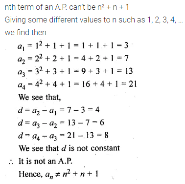 ML Aggarwal Class 10 Solutions for ICSE Maths Chapter 9 Arithmetic and Geometric Progressions Chapter Test 18