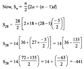 ML Aggarwal Class 10 Solutions for ICSE Maths Chapter 9 Arithmetic and Geometric Progressions Chapter Test 21