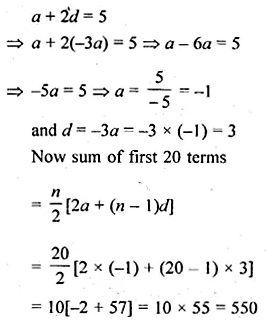 ML Aggarwal Class 10 Solutions for ICSE Maths Chapter 9 Arithmetic and Geometric Progressions Chapter Test 26