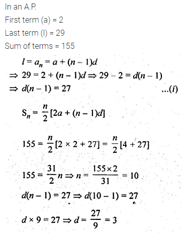 ML Aggarwal Class 10 Solutions for ICSE Maths Chapter 9 Arithmetic and Geometric Progressions Chapter Test 27