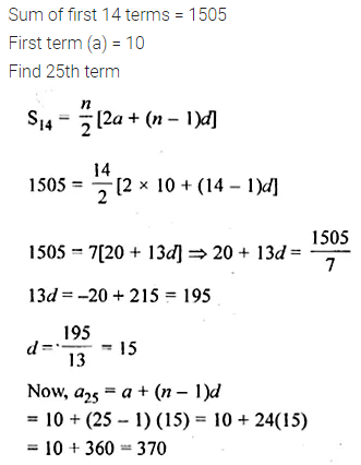 ML Aggarwal Class 10 Solutions for ICSE Maths Chapter 9 Arithmetic and Geometric Progressions Chapter Test 28