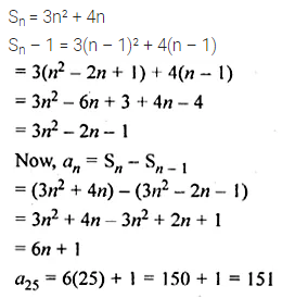 ML Aggarwal Class 10 Solutions for ICSE Maths Chapter 9 Arithmetic and Geometric Progressions Chapter Test 30