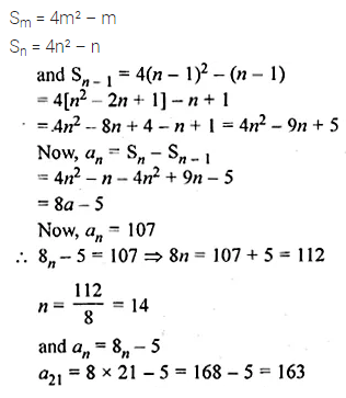 ML Aggarwal Class 10 Solutions for ICSE Maths Chapter 9 Arithmetic and Geometric Progressions Chapter Test 33