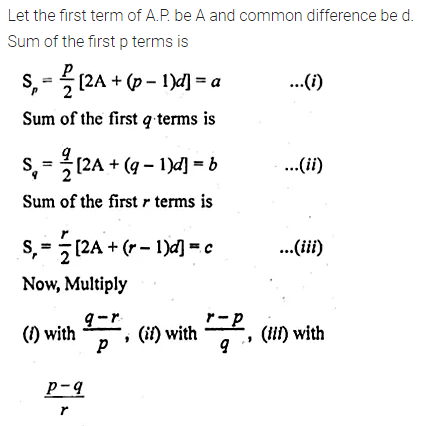 ML Aggarwal Class 10 Solutions for ICSE Maths Chapter 9 Arithmetic and Geometric Progressions Chapter Test 34
