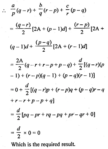 ML Aggarwal Class 10 Solutions for ICSE Maths Chapter 9 Arithmetic and Geometric Progressions Chapter Test 35