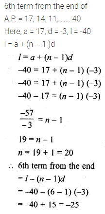ML Aggarwal Class 10 Solutions for ICSE Maths Chapter 9 Arithmetic and Geometric Progressions Chapter Test 4