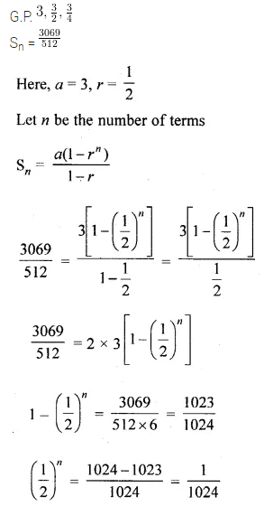 ML Aggarwal Class 10 Solutions for ICSE Maths Chapter 9 Arithmetic and Geometric Progressions Chapter Test 42