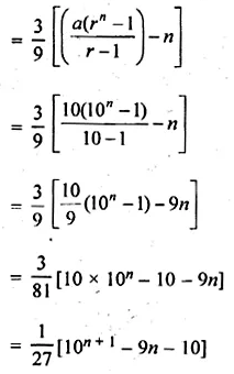 ML Aggarwal Class 10 Solutions for ICSE Maths Chapter 9 Arithmetic and Geometric Progressions Chapter Test 45