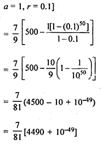 ML Aggarwal Class 10 Solutions for ICSE Maths Chapter 9 Arithmetic and Geometric Progressions Chapter Test 47