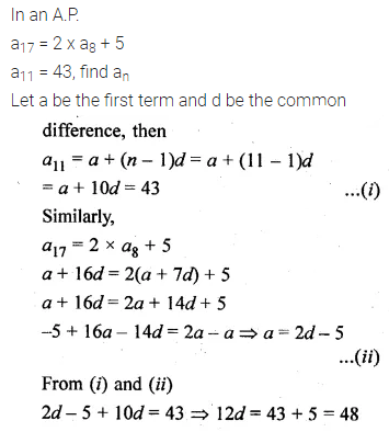 ML Aggarwal Class 10 Solutions for ICSE Maths Chapter 9 Arithmetic and Geometric Progressions Chapter Test 6