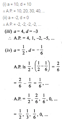 ML Aggarwal Class 10 Solutions for ICSE Maths Chapter 9 Arithmetic and Geometric Progressions Ex 9.1 2