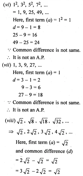 ML Aggarwal Class 10 Solutions for ICSE Maths Chapter 9 Arithmetic and Geometric Progressions Ex 9.1 5