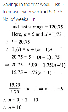 ML Aggarwal Class 10 Solutions for ICSE Maths Chapter 9 Arithmetic and Geometric Progressions Ex 9.2 34