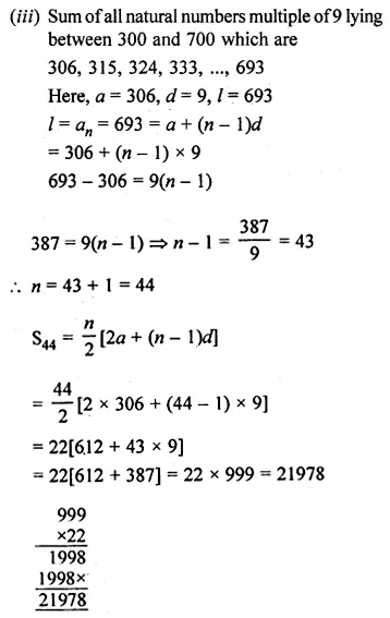 ML Aggarwal Class 10 Solutions for ICSE Maths Chapter 9 Arithmetic and Geometric Progressions Ex 9.3 35
