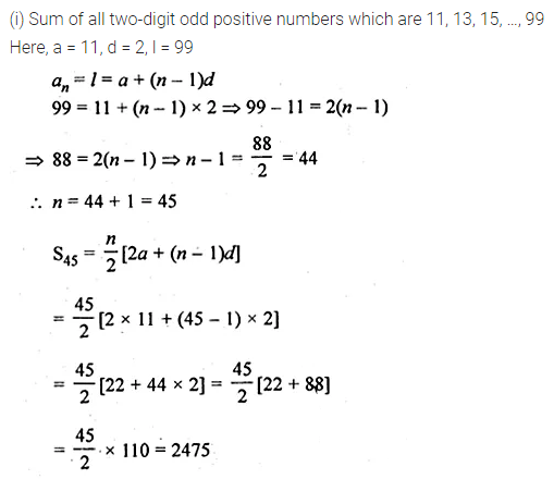 ML Aggarwal Class 10 Solutions for ICSE Maths Chapter 9 Arithmetic and Geometric Progressions Ex 9.3 37