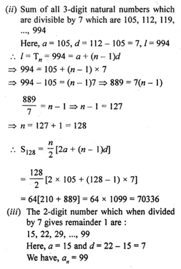ML Aggarwal Class 10 Solutions for ICSE Maths Chapter 9 Arithmetic and Geometric Progressions Ex 9.3 38