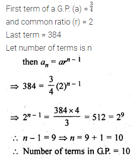 ML Aggarwal Class 10 Solutions for ICSE Maths Chapter 9 Arithmetic and Geometric Progressions Ex 9.4 11