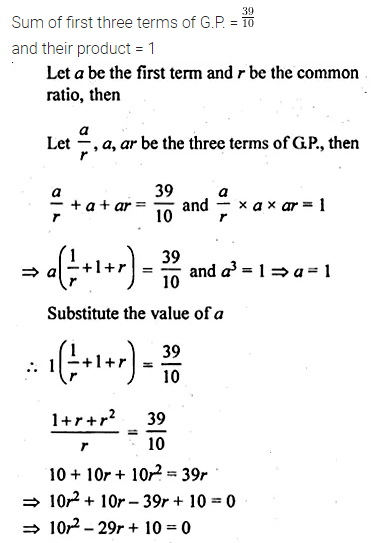 ML Aggarwal Class 10 Solutions for ICSE Maths Chapter 9 Arithmetic and Geometric Progressions Ex 9.4 23
