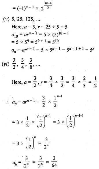 ML Aggarwal Class 10 Solutions for ICSE Maths Chapter 9 Arithmetic and Geometric Progressions Ex 9.4 3