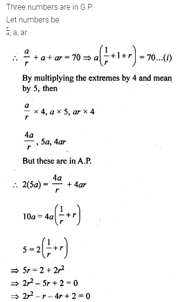 ML Aggarwal Class 10 Solutions for ICSE Maths Chapter 9 Arithmetic and Geometric Progressions Ex 9.4 30