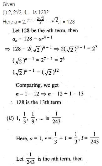 ML Aggarwal Class 10 Solutions for ICSE Maths Chapter 9 Arithmetic and Geometric Progressions Ex 9.4 5