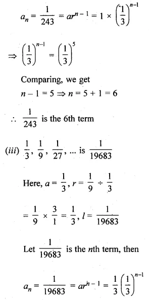 ML Aggarwal Class 10 Solutions for ICSE Maths Chapter 9 Arithmetic and Geometric Progressions Ex 9.4 6