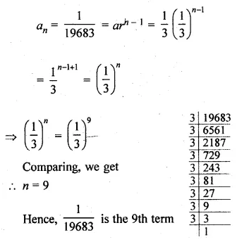 ML Aggarwal Class 10 Solutions for ICSE Maths Chapter 9 Arithmetic and Geometric Progressions Ex 9.4 7