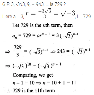 ML Aggarwal Class 10 Solutions for ICSE Maths Chapter 9 Arithmetic and Geometric Progressions Ex 9.4 8