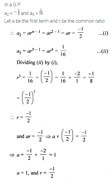 ML Aggarwal Class 10 Solutions for ICSE Maths Chapter 9 Arithmetic and Geometric Progressions Ex 9.5 19