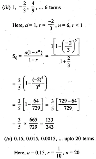 ML Aggarwal Class 10 Solutions for ICSE Maths Chapter 9 Arithmetic and Geometric Progressions Ex 9.5 2
