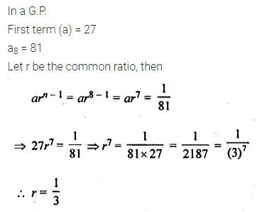 ML Aggarwal Class 10 Solutions for ICSE Maths Chapter 9 Arithmetic and Geometric Progressions Ex 9.5 21