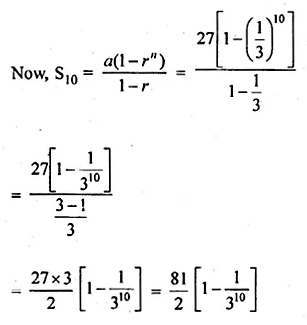 ML Aggarwal Class 10 Solutions for ICSE Maths Chapter 9 Arithmetic and Geometric Progressions Ex 9.5 22