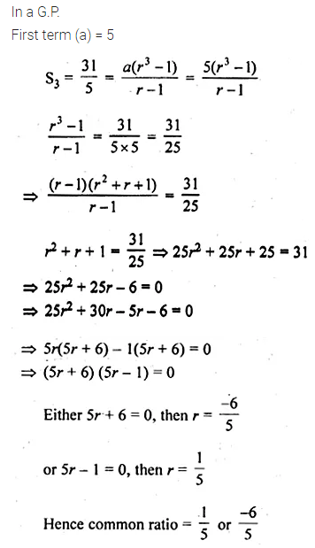 ML Aggarwal Class 10 Solutions for ICSE Maths Chapter 9 Arithmetic and Geometric Progressions Ex 9.5 27
