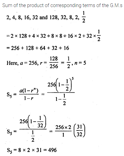 ML Aggarwal Class 10 Solutions for ICSE Maths Chapter 9 Arithmetic and Geometric Progressions Ex 9.5 29