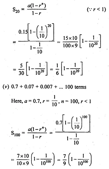 ML Aggarwal Class 10 Solutions for ICSE Maths Chapter 9 Arithmetic and Geometric Progressions Ex 9.5 3