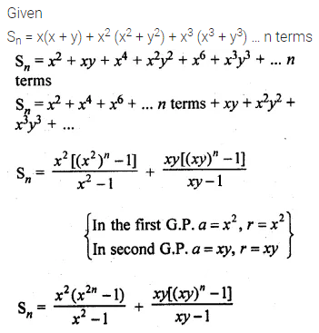 ML Aggarwal Class 10 Solutions for ICSE Maths Chapter 9 Arithmetic and Geometric Progressions Ex 9.5 32
