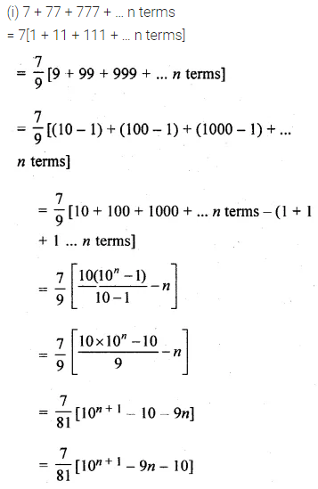 ML Aggarwal Class 10 Solutions for ICSE Maths Chapter 9 Arithmetic and Geometric Progressions Ex 9.5 35