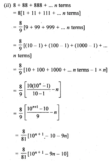 ML Aggarwal Class 10 Solutions for ICSE Maths Chapter 9 Arithmetic and Geometric Progressions Ex 9.5 36