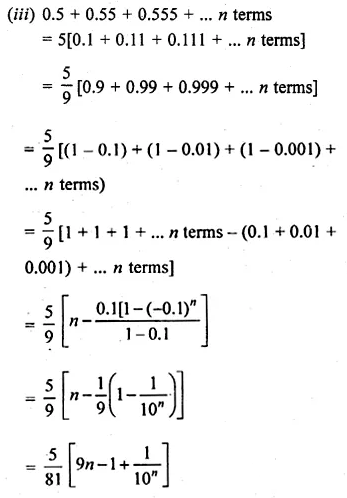 ML Aggarwal Class 10 Solutions for ICSE Maths Chapter 9 Arithmetic and Geometric Progressions Ex 9.5 37