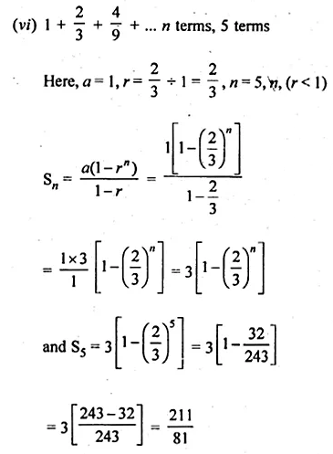 ML Aggarwal Class 10 Solutions for ICSE Maths Chapter 9 Arithmetic and Geometric Progressions Ex 9.5 4