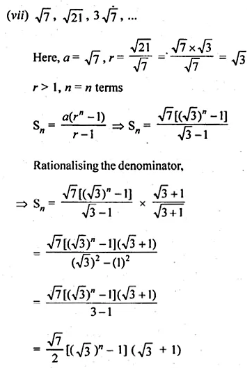 ML Aggarwal Class 10 Solutions for ICSE Maths Chapter 9 Arithmetic and Geometric Progressions Ex 9.5 5