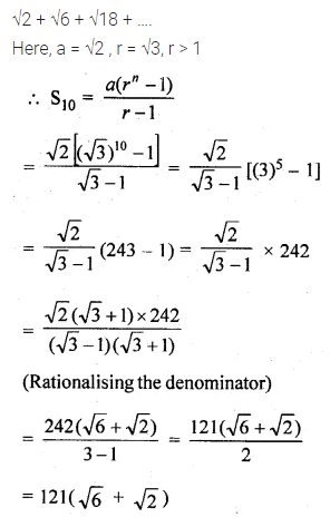 ML Aggarwal Class 10 Solutions for ICSE Maths Chapter 9 Arithmetic and Geometric Progressions Ex 9.5 7