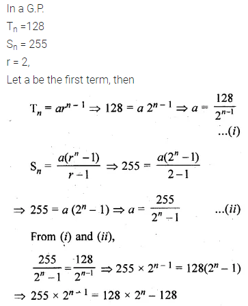 ML Aggarwal Class 10 Solutions for ICSE Maths Chapter 9 Arithmetic and Geometric Progressions Ex 9.5 9