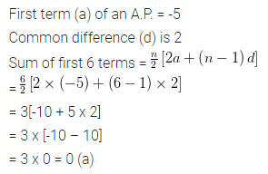 ML Aggarwal Class 10 Solutions for ICSE Maths Chapter 9 Arithmetic and Geometric Progressions MCQS 17