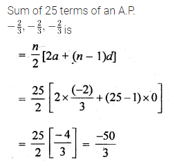 ML Aggarwal Class 10 Solutions for ICSE Maths Chapter 9 Arithmetic and Geometric Progressions MCQS 18