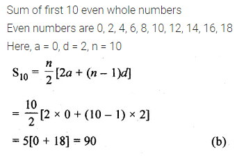ML Aggarwal Class 10 Solutions for ICSE Maths Chapter 9 Arithmetic and Geometric Progressions MCQS 25
