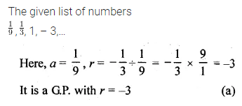 ML Aggarwal Class 10 Solutions for ICSE Maths Chapter 9 Arithmetic and Geometric Progressions MCQS 26