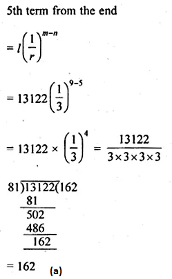 ML Aggarwal Class 10 Solutions for ICSE Maths Chapter 9 Arithmetic and Geometric Progressions MCQS 29