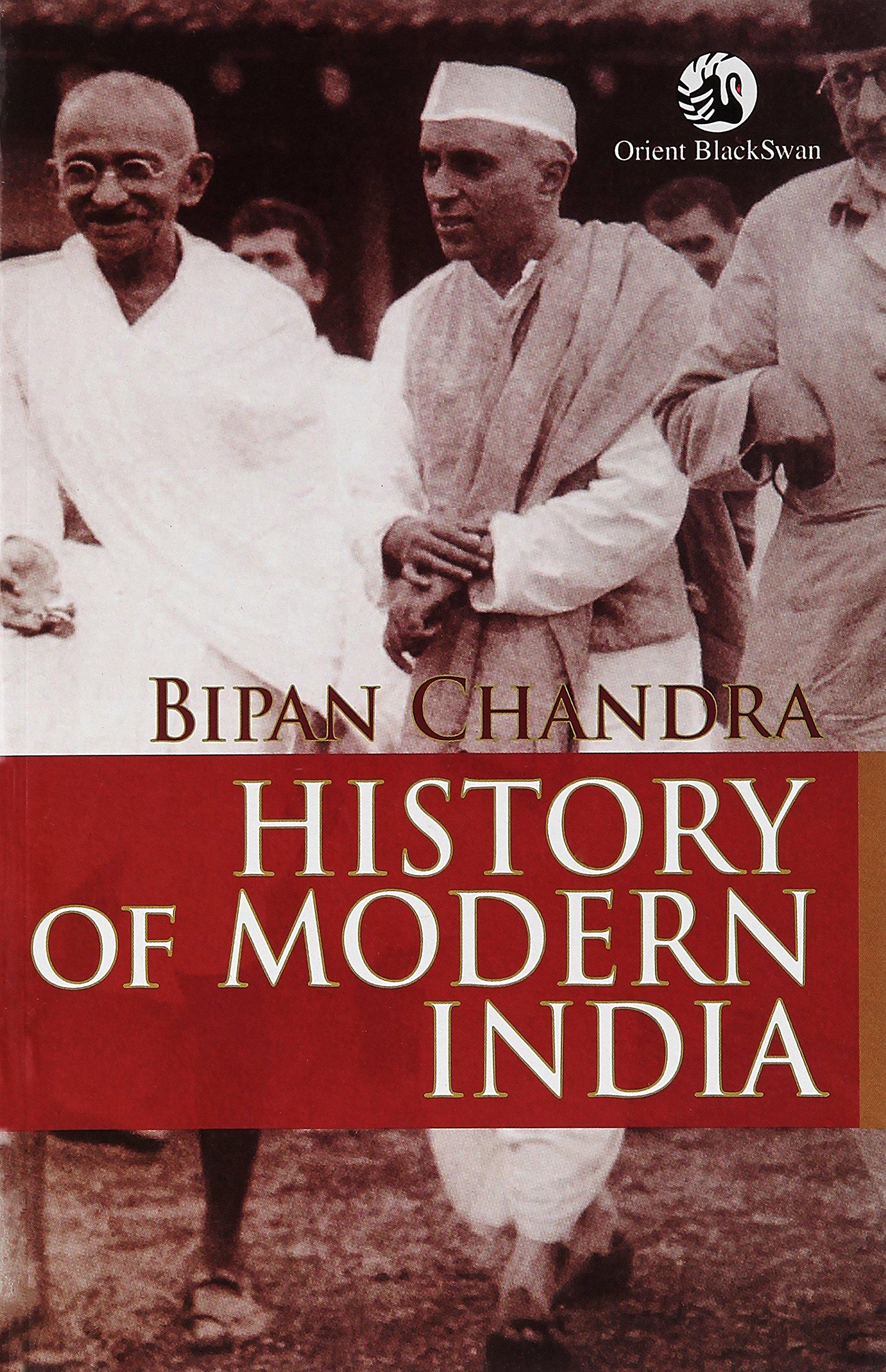 Modern Indian History by Bipin Chandra